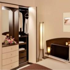 Комплект раздвижной системы для шкафа на Bifold 1 дверь (2 м)