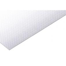 Коврик гофрированный 480мм, белый (толщ. 1,5мм) OPES 797.200.048.010-белый
