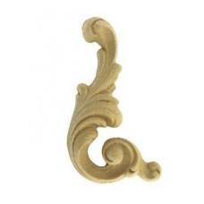 339 Орнамент из древесной пыли прав., лев. (10x5см) /F560339/