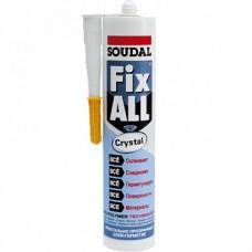 Клей-герметик SOUDAL Fix All Crystal 290мл, прозорий (скло) /трубка/