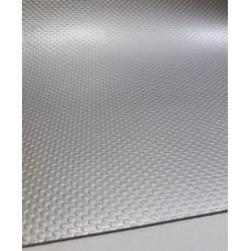 Коврик гофрированный 480мм, серебро (толщ. 1,5мм) OPES 797.200.048.040-серебро
