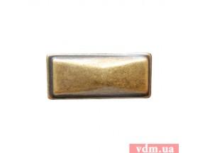 24090Z0450B.09 ручка 1-крепление старое золото (41х21х24мм)