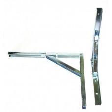 Крепление для складных столов L-400мм, белое(Е.)