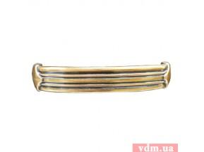 15059Z1280B.07 ручка L-128мм старое золото (162*22мм)