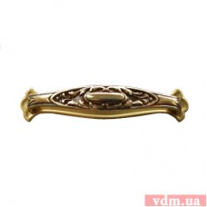 18330.09000.54 ручка L-90mm старое золото с подкладкой (110*23мм)