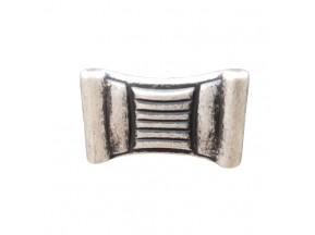 24085Z0350B.25 ручка 1-крепление старое серебро (35*22*21мм)