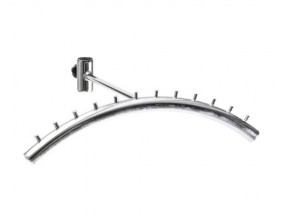 188 Вешалка к трубе d-25мм радиусная 40см