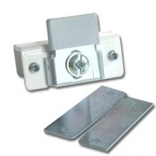 Ролик верхний Mini Cabinet врезная  под стекло, хром WO-10-07