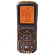 Лазерный дальномер AEG LCD дисплей,клас-2,дальность-50м,питание -2*ААА