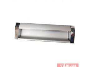 08 C00 04 UA ручка врезная L-128мм хром/алюминий (UA-01-326-128)