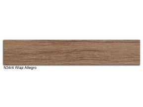 34/4 N лента ABS 22х2мм вяз алегро