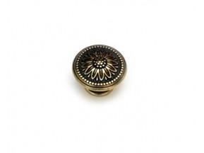 24225Z03000.07 ручка 1-крепление d-30мм старое золото (30*22мм)
