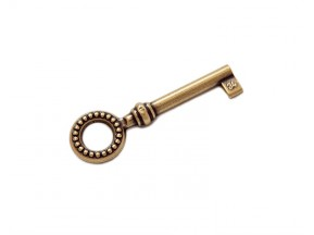 33729.0340N.07 Ключ L-34мм старое золото (22*68мм)