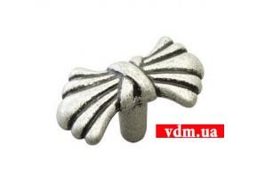 24089Z0450B.25 ручка 1-крепление старое серебро (45*23*22мм)