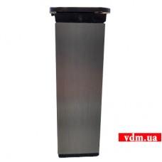 FE Ножка мебельная квадрат 40 х 40мм h-150mm с регулир.INOX  (ТB07.5005.07.741)
