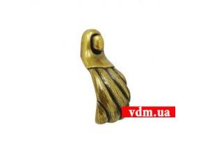 15050Z0590B.07 ручка 1-крепление старое золото (24*70мм)