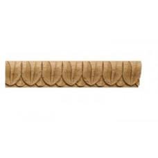 002 em Орнамент-листва деревянный L-1200мм (23х15х1200мм) /em 00002/