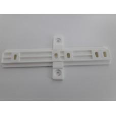 Завес для холодильника пластик белый