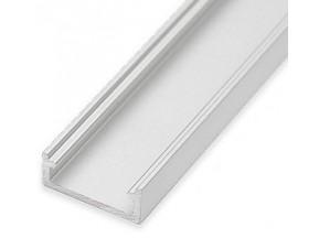 """Профиль накладной """"LL-01"""" (17мм) L-2000мм для светодиодной ленты, алюминий 134100"""
