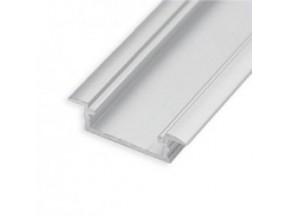 """Профиль """"LL-03"""" врезной L-2000мм для светодиодной ленты, алюминий (134300)"""