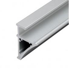 Профиль треугольный 45,5х30 мм для стеклянных полок под стекло 6/8 мм L-2,75 м (132100)