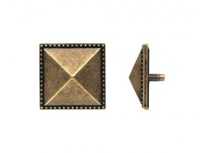 45984Z04500.03 декоративная накладка квадратная старое золото (45*45мм)