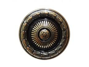 24286Z03000.07 ручка 1-крепление d-30мм старое золото (30*21мм)
