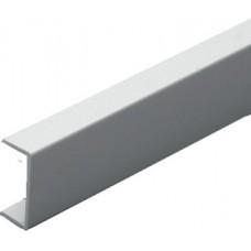 Накладка д/ДСП 18 мм С-образ. алюминий L-3,0 м 8660