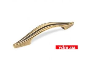 15076Z0960B.07 ручка L-96мм старое золото (152*25мм)