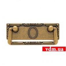 06060Z0970.09 ручка L-64мм старое золото (96*45мм)
