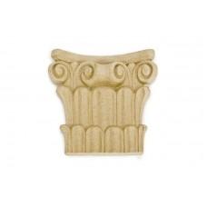 340 Орнамент из древесной пыли (14x14см, выступ=3см) /F560340/