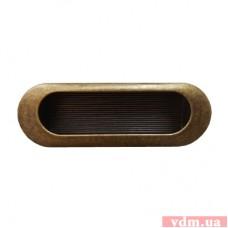 15103Z0900B.09 ручка врезная старое золото (90*31мм)