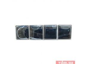 15305Z064B.32 ручка L-064мм нержавеющая сталь / камень оникс