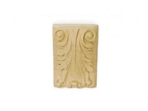351 Орнамент из древесной пыли (11x8см) /F560351/