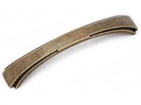15046Z1280B.09 ручка L-128мм старое золото (157*29мм)