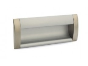 08 C00 06 UA ручка врезная L-096мм сатин/алюминий