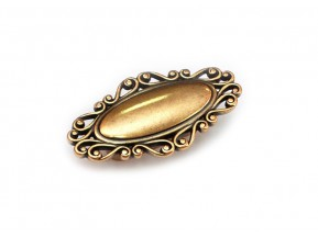 24258Z07900.07 ручка L-32мм старое золото (79*41*25мм)