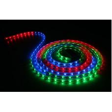 Лента изолированная IP-65 2835 - 60 LED - 4,8w -12V -8mm RGB L-5м   (4-5 lm)