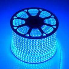 Лента изолированная IP-65 5050 - 60 LED - 14,4w -12V-10mm ГОЛУБОЙ, L-5м  (18 lm)