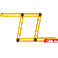 Шаблон - линейка VOREL для переноса измерений 310 х 175 х 25 мм (VO-18470)