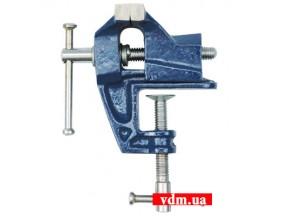 Тиски настольные VOREL неповоротные 25 мм