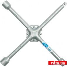 """Ключ балонный VOREL крестовой усиленный 17 х 19 х 22 мм х 1/2"""""""
