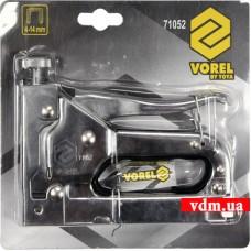 Степлер VOREL с регулятором для скоб А 4-14 мм