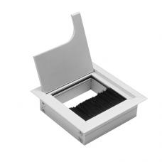 Заглушка для кабеля Merida квадратная 80х80мм алюминий (LB-K80x80-05)