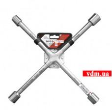 Ключ балонный YATO крестовой усиленный 17 х 19 х 21 х 22 мм