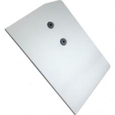 Заглушка STANLUX алюминиевая ЛЕВАЯ-длинная 11199000