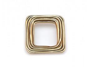15160Z0640B.07 ручка L-64mm старое золото (84*87мм)