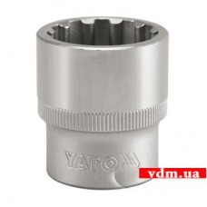 """Головка торцевая YATO Spline 1/2"""" 11 мм (YT-1463)"""
