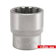 """Головка торцевая YATO Spline 1/2"""" 20 мм (YT-1472)"""